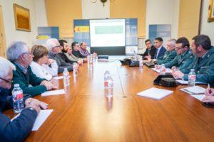 Alcaldes de la zona de Alcolea se reúnen con el delegado de Gobierno de C-LM para mejorar la seguridad