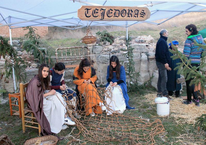 Estuvieron representados algunos de los oficios más tradicionales.