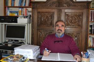 Juan Manuel Monasterio: «Nuestro museo de verdad son nuestras casas, nuestras calles, nuestro castillo… y hay que defenderlos a toda costa».