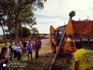 La tradición del Pimpollo en Tordesilos