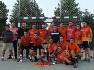 Ciruelos del Pinar celebra su XXX edición del torneo de fútbol-sala con más de 200 participantes