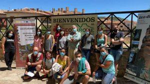 Una quincena de personas se forma para potenciar el turismo en torno al Geoparque