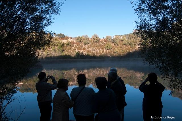 Turismo en  la laguna de Taravilla