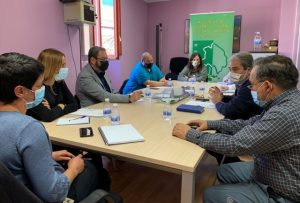 El Gobierno regional se reúne con la Asociación de Desarrollo Rural de Molina-Alto Tajo