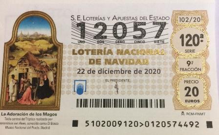 La lotería de Navidad a disposición de los socios y amigos de Tierra Molinesa