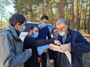 La Diputación y la Mancomunidad Alto Tajo aprovechan de forma sostenible el monte para crear trabajo y fijar población
