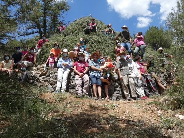 Micorriza continúa con su labor de recuperación del medio ambiente y patrimonio etnográfico