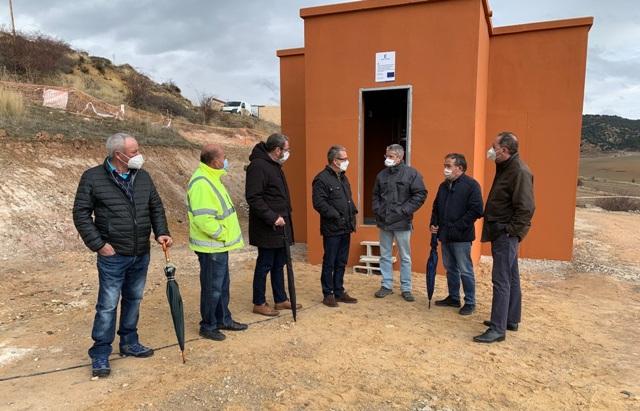 El Gobierno regional invierte cerca de 65.000 euros en el nuevo depósito de agua potable de Megina