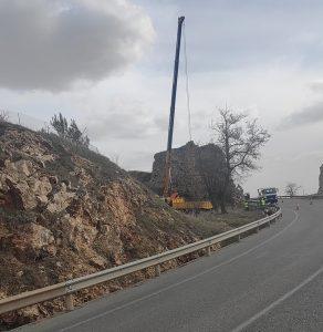 La Junta trabaja en la intervención urgente en el castillo de Molina ante los últimos derrumbes