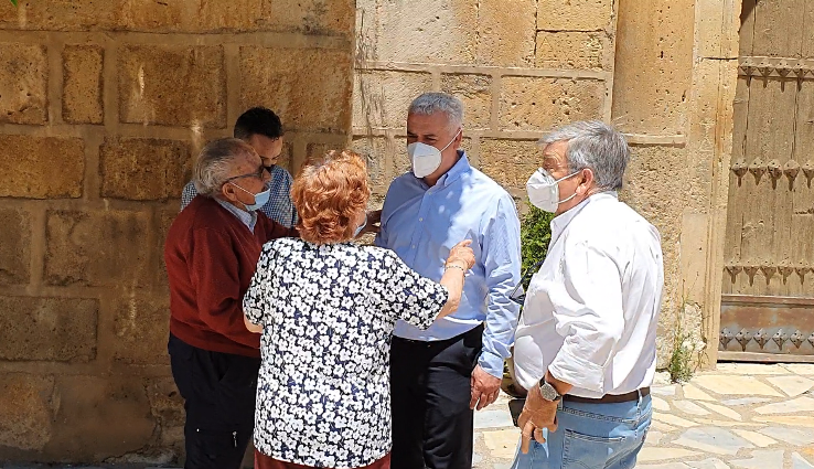 El alcalde de Milmarcos resalta el apoyo  de la Diputación a los pequeños pueblos