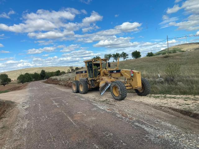 Se inician las obras de mejora del segundo tramo de la CM-2017, entre Turmiel y Milmarcos