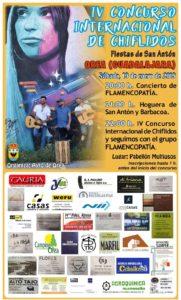 Orea celebra San Antón con chiflidos, hoguera, barbacoa y flamenco