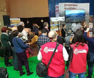 El Geoparque de la Comarca de Molina-Alto Tajo hace los deberes en Fitur 2019
