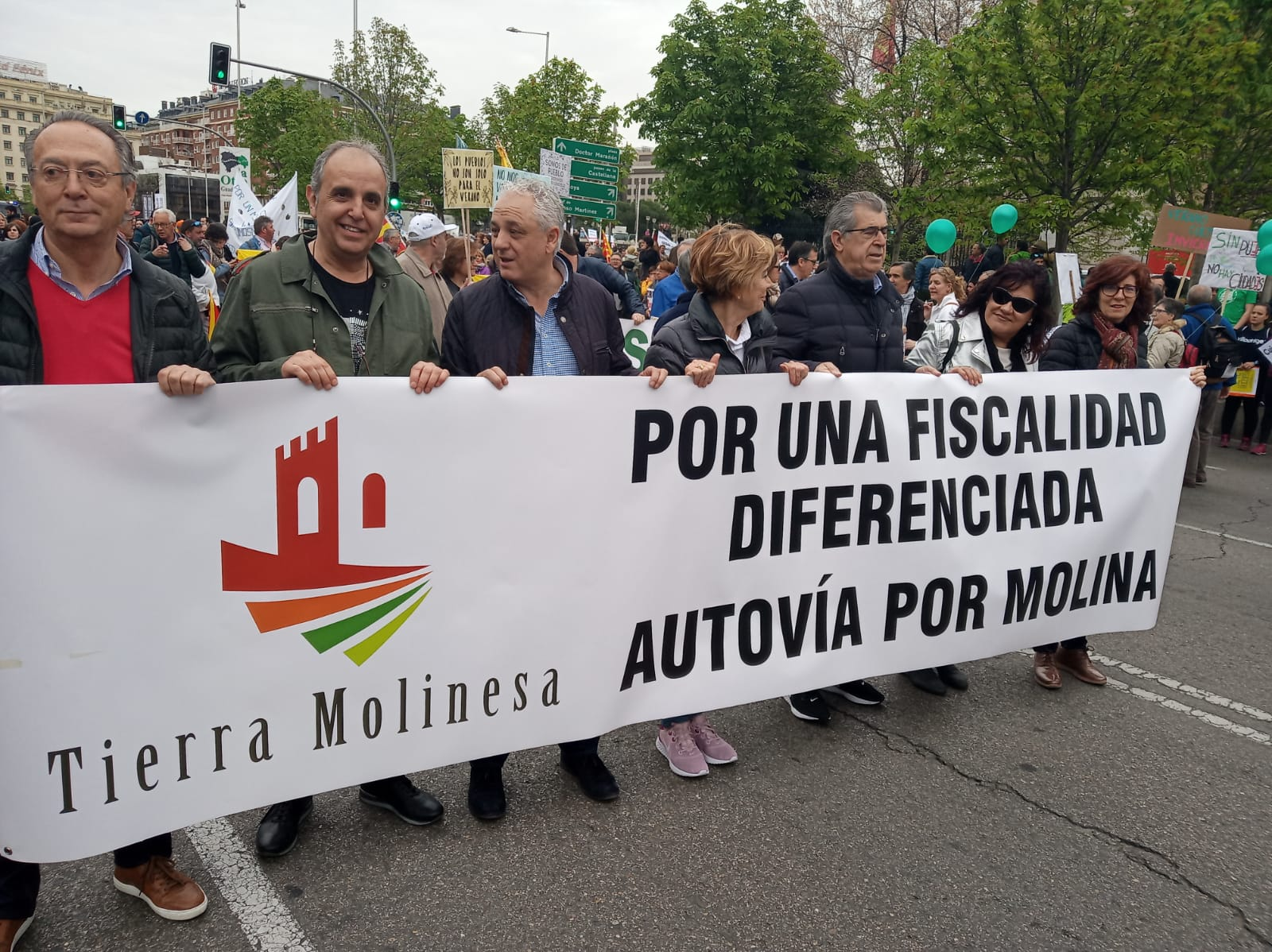 Tierra Molinesa defiende una fiscalidad diferenciada en la Revuelta de la España Vaciada