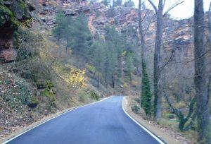 Reabierta al tráfico la carretera de la Virgen de la Hoz hasta Cuevas Labradas