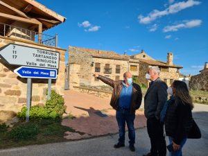 La Diputación invierte 2 millones de euros en carreteras del Señorío de Molina