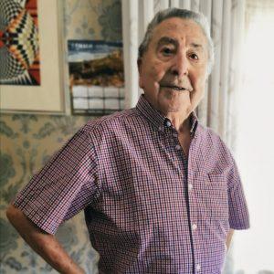 'Don Luis' García Marcos celebra 100 años ejerciendo de molinés de pro