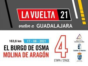 Molina acogerá el final de una etapa de la Vuelta Ciclista a España el 17 de agosto
