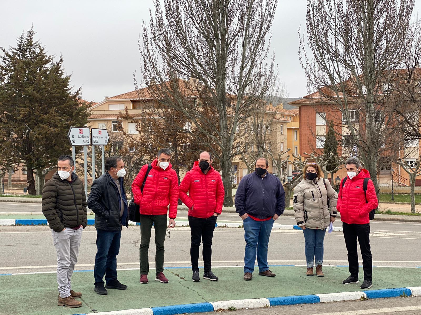 Molina avanza en la coordinación del operativo para el paso de la Vuelta España por la localidad
