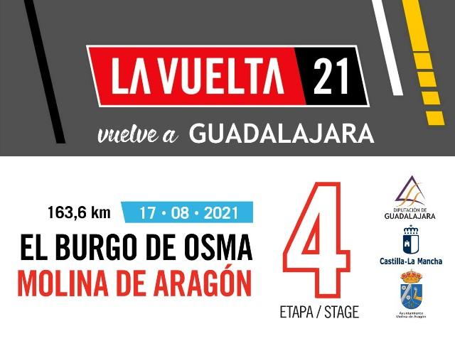 La Vuelta llega el martes a Molina de Aragón