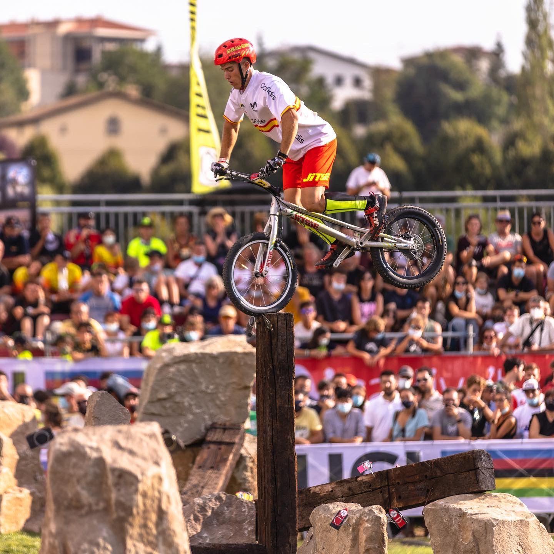 Alejandro Montalvo, un referente en el Trial Bici con raíces en Orea